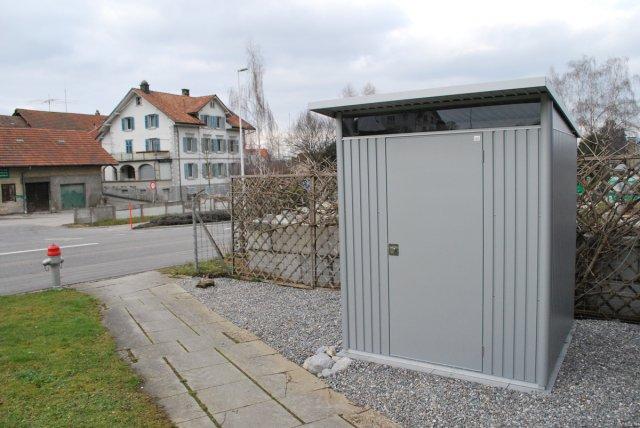 Gartenhaus carport